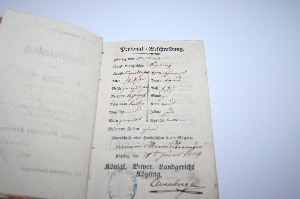 Fenster Bad Kötzting :  historischesDienstbotenbuchBadKoetzting18391840MagdLandgericht
